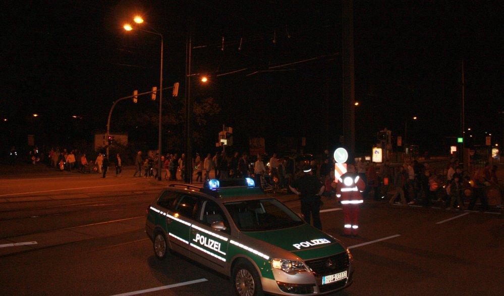 Laternenumzug in der Rostocker Südstadt