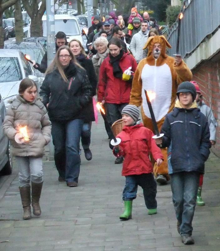 Osterfeuer 2012 im Hansaviertel Rostock