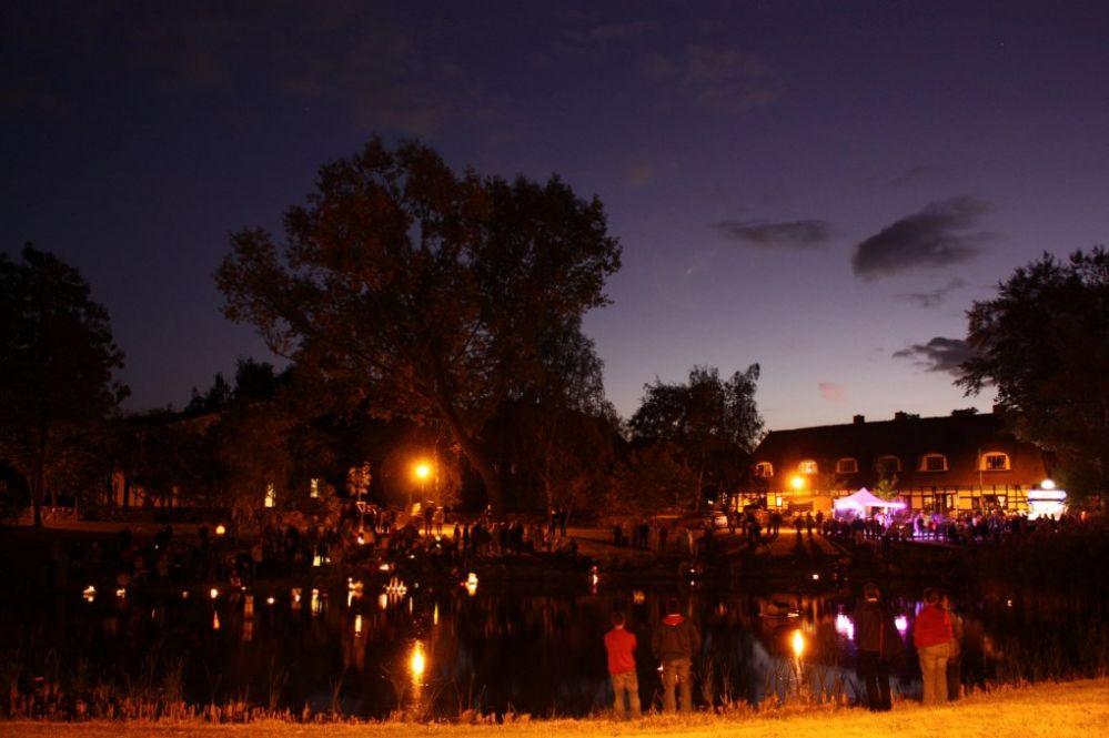 Stadtteilfest Biestow - Dorfteichleuchten