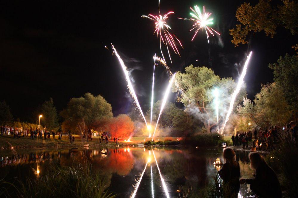 Stadtteilfest Biestow - Feuerwerk